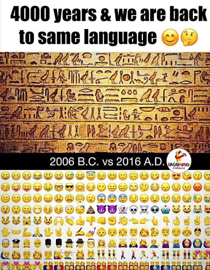 281: The Emoji Code (featuring Vyvyan Evans) – Talk the Talk